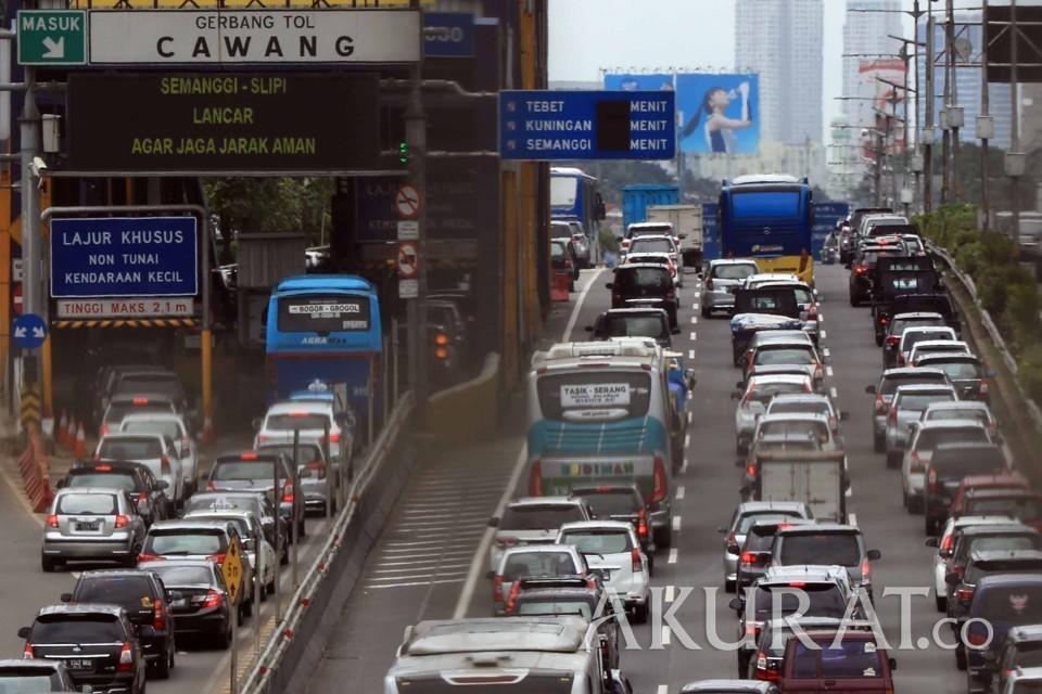 Begini Tahapan Penerapan ERP di Tol Jakarta-Bekasi