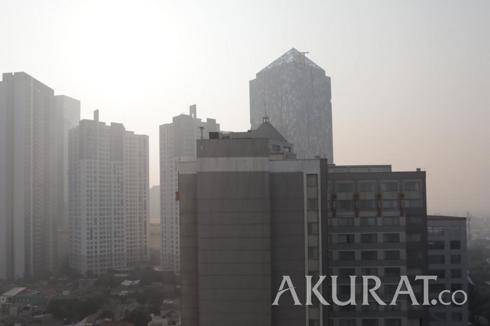 Tak Sehat Kemarin Malam, Kualitas Udara Jakarta Pagi ini Sudah Membaik