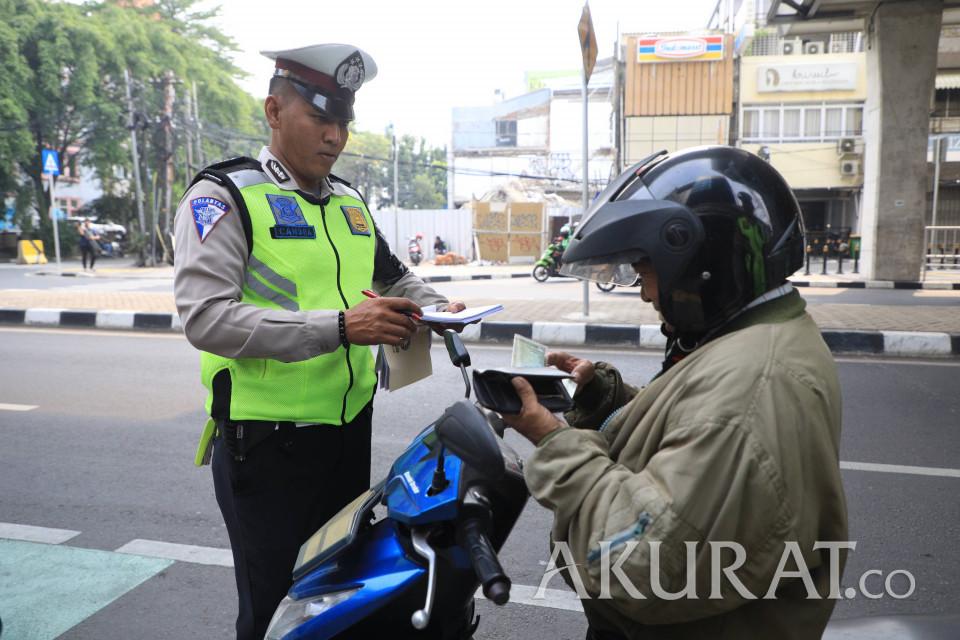 Polda Metro Tilang 12.736 Kendaraan Selama 6 Hari Operasi Patuh Jaya 2020