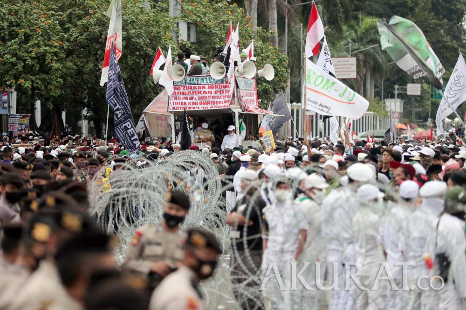 Polisi Tetapkan Satu Tersangka Terkait Demo Ricuh di DPR