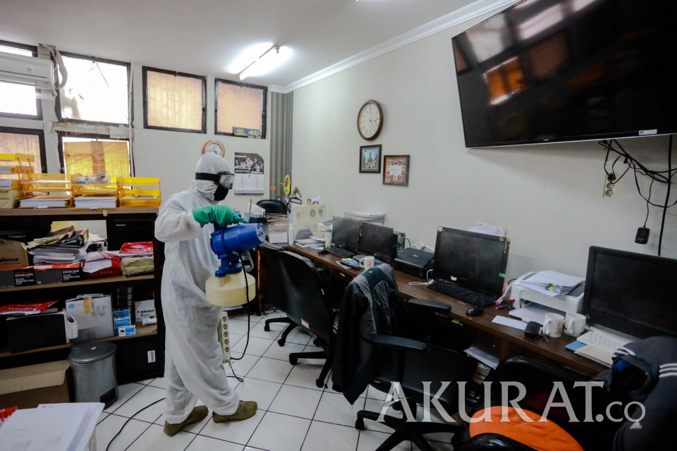 Klaster Perkantoran, Karyawan yang Tinggal di Zona Merah Disarankan WFH