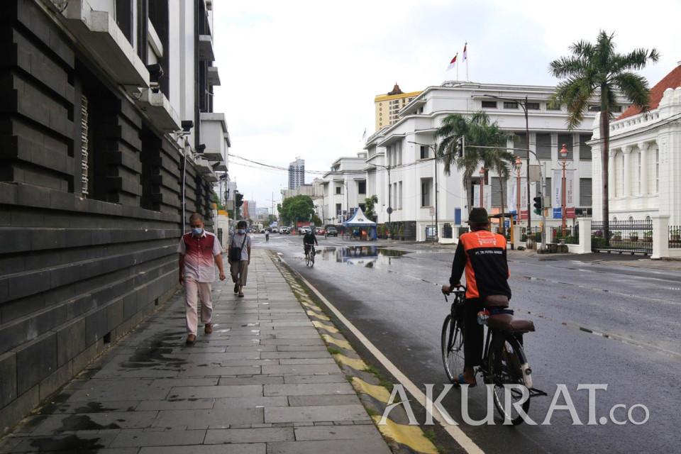 Mulai Berlaku Hari Ini, Kota Tua Jadi Kawasan Rendah Emisi - Foto 2