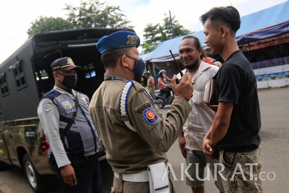 Operasi Yustisi di Ciputat Jaring Pelanggar Protokol Kesehatan - Foto 1