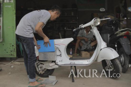 Bengkel di Bekasi Modifikasi Sepeda Motor Bensin Jadi Elektrik