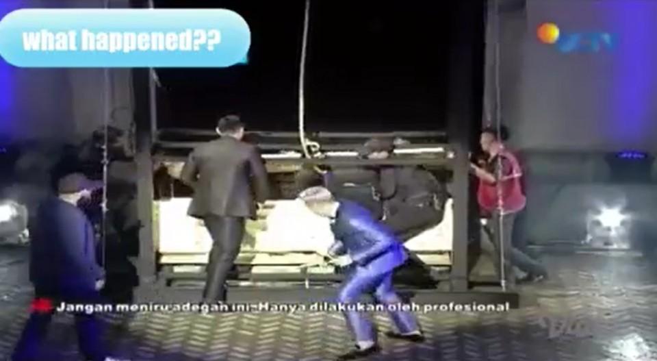 Robby Purba dan Andika Pratama Lihat Langsung Kondisi Korban Death Drop Demian Aditya - Foto 1