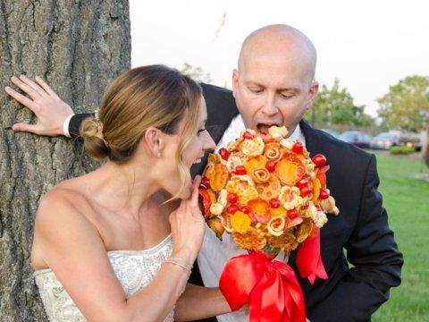 Tak Hanya Bunga, Pengantin Bisa Gunakan Buket Pizza di Pesta Pernikahan