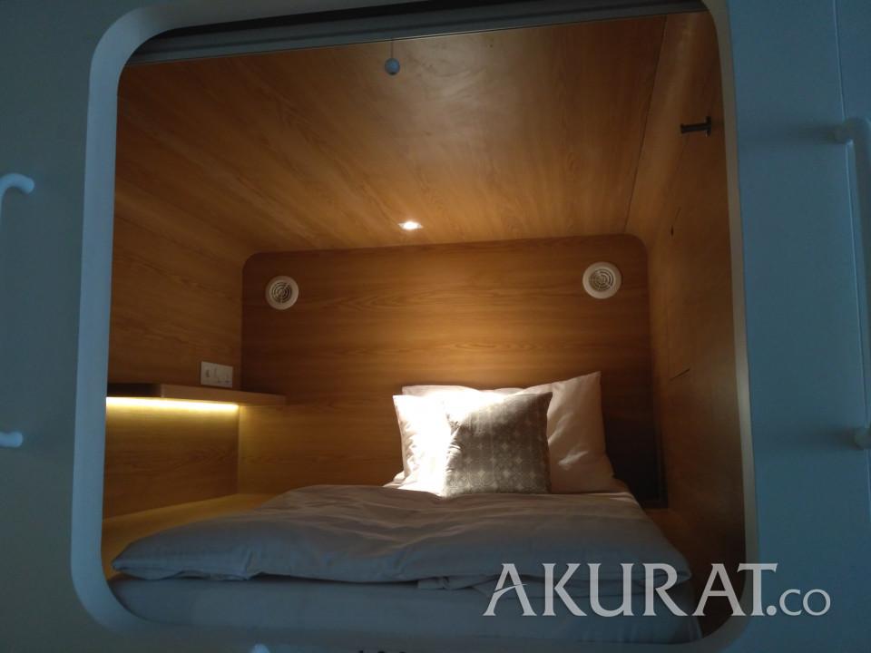 Tidak Perlu Ke Jepang, Jakarta Juga Punya Hotel Kapsul - Foto 1