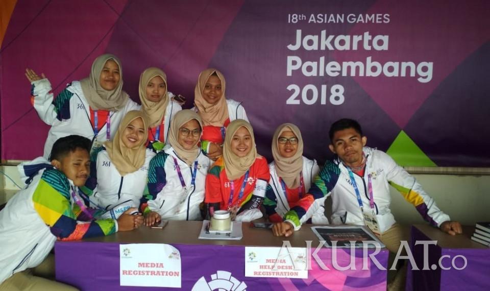 Suka Duka Jadi Voulenteer Asian Games Ini Curhatan Mereka - Foto 1