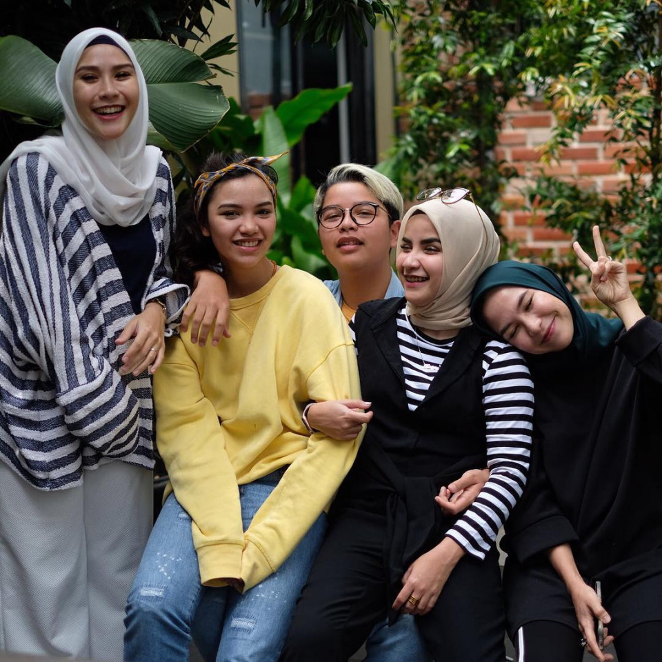 7 Bersaudara, 10 Potret Kompaknya Kakak-Beradik Zaskia Adya Mecca - Foto 9