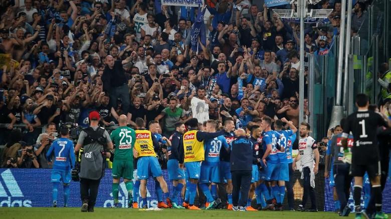 Ngeri! Empat Suporter Napoli Ditusuk Oknum Ultras Inter