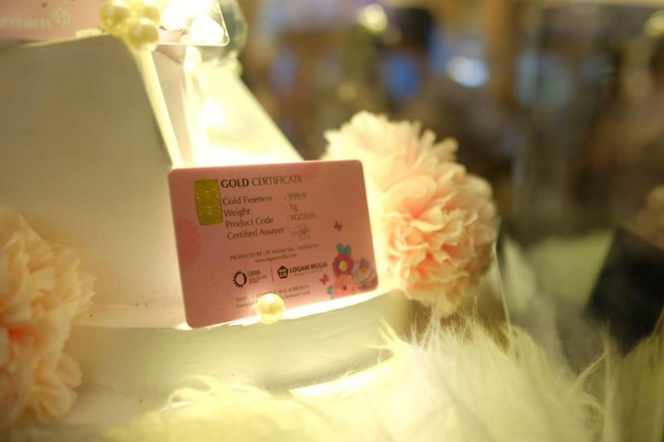 Sasar Milenial untuk Hadiah Momen Spesial, ANTAM Luncurkan Emas Gift Series - Foto 1