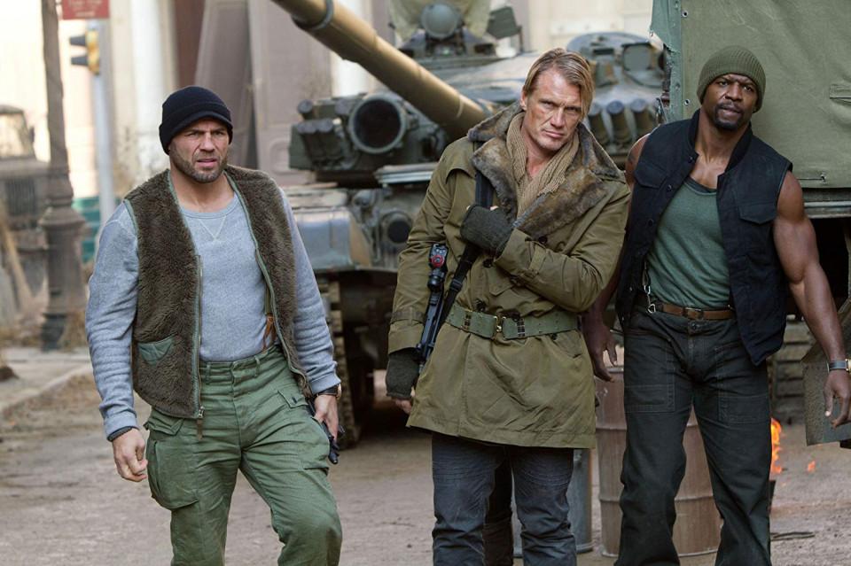 10 Aksi Menegangkan Film 'The Expendables 2', Tayang di Bioskop Trans TV Malam ini - Foto 8
