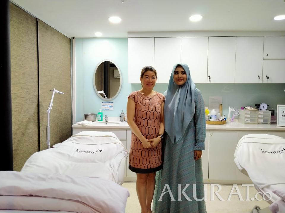 Bermasalah Pada Bobot Tubuh, Elma Theana Lakukan Perawatan Suntik Slimming - Foto 1