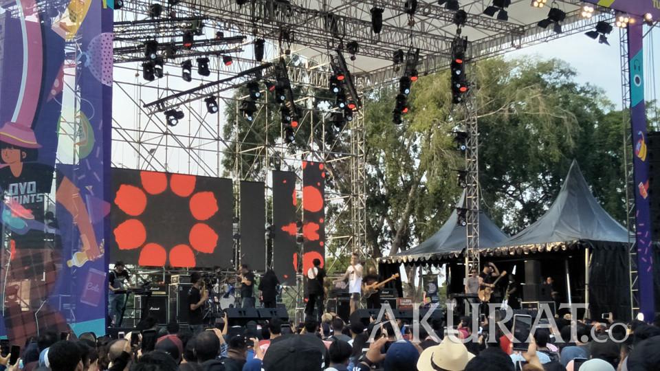 Element Reuni di The 90's Festival Hari Pertama, Didi Riyadi Ikut Nyanyi