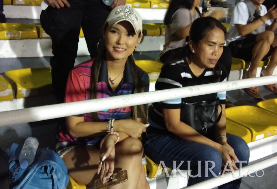 Miyabi Kembali Saksikan Laga Indonesia - Foto 1
