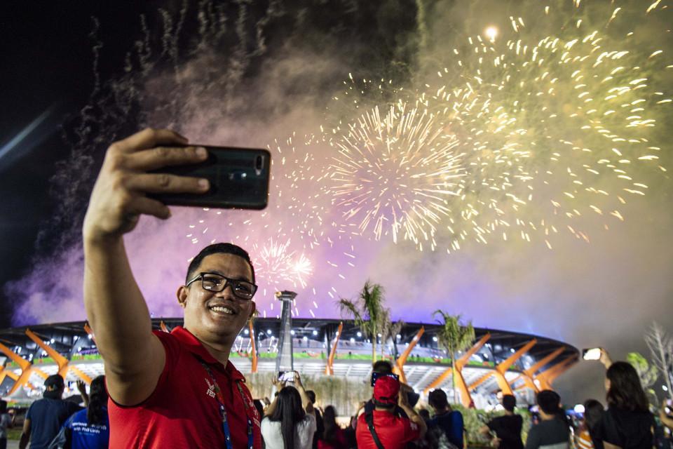 Amerika-Spanyol, SEA Games, dan Malamnya Manila - Foto 3
