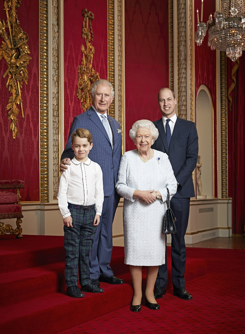 Potret Penting Pewaris Kerajaan Inggris Menyosong Tahun 2020 - Foto 1
