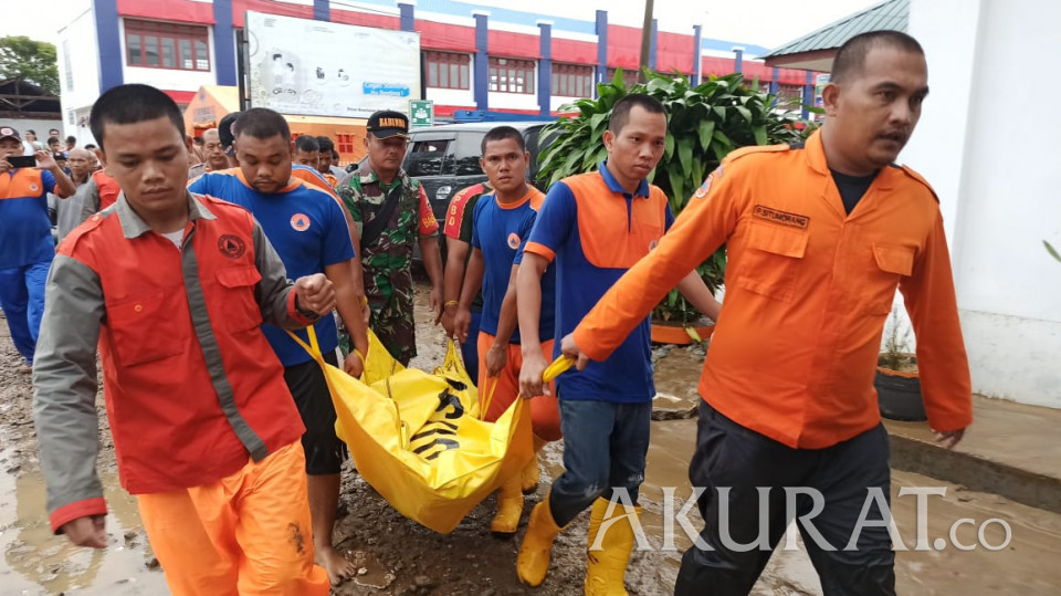 Ini Data Sembilan Orang Meninggal Akibat Banjir Bandang di Tapanuli Tengah