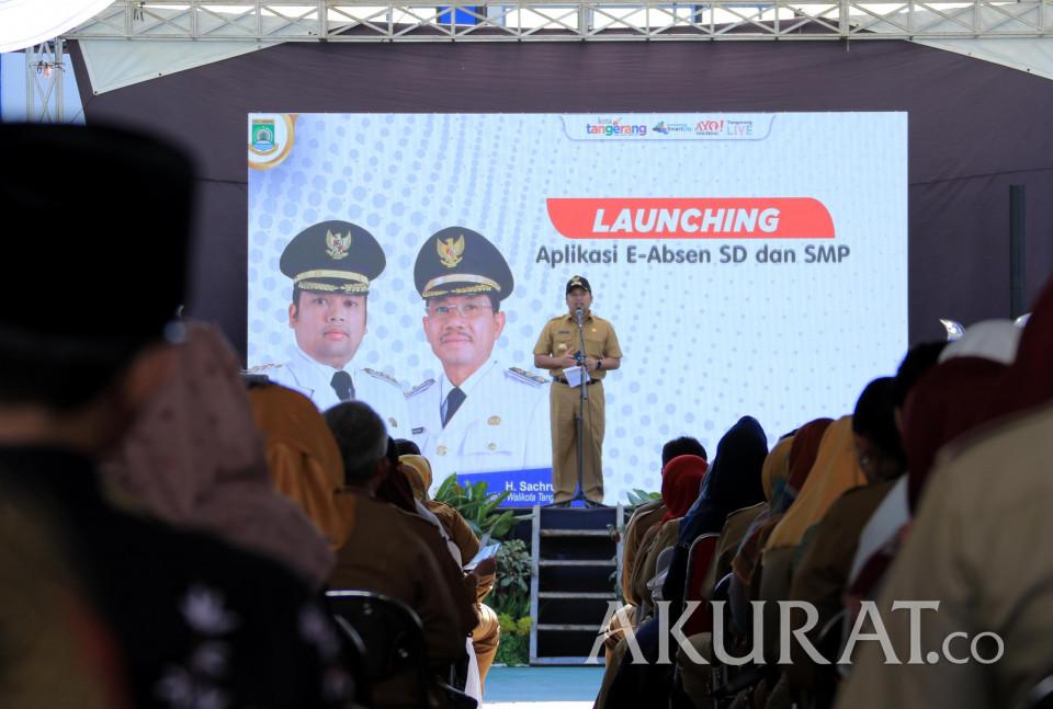 Pemkot Tangerang Luncurkan Aplikasi e-Absen Bagi SD dan SMP