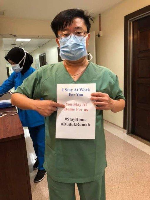 6 Pesan Duduk di Rumah dari Para Tenaga Medis untuk Mencegah Virus Corona, Ayo Turuti - Foto 1