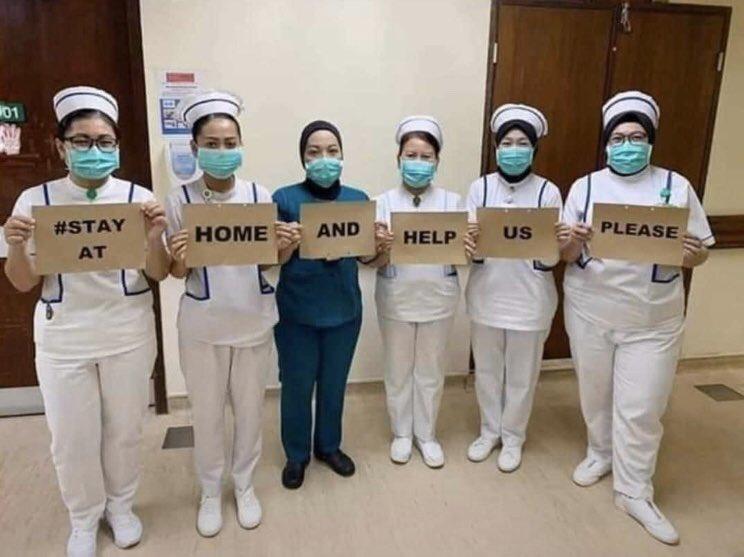 6 Pesan Duduk di Rumah dari Para Tenaga Medis untuk Mencegah Virus Corona, Ayo Turuti - Foto 2
