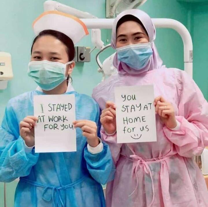 6 Pesan Duduk di Rumah dari Para Tenaga Medis untuk Mencegah Virus Corona, Ayo Turuti - Foto 4