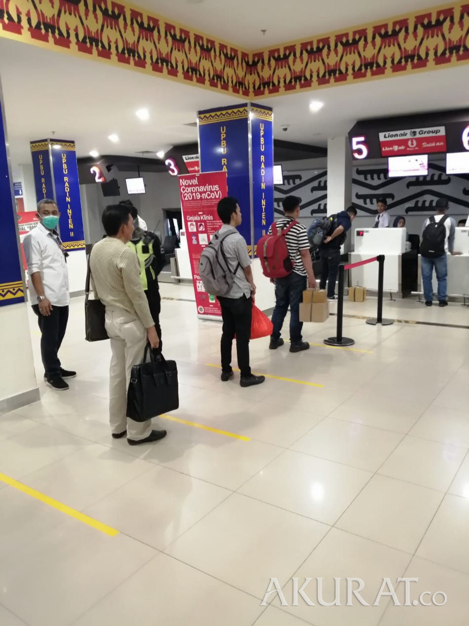 Angkasa Pura II Terapkan Social Distancing di Bandaranya