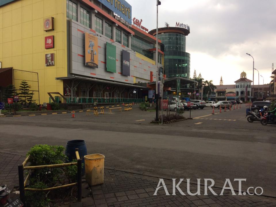 Hari Libur, Begini Suasana Tempat Perbelanjaan di Bandung