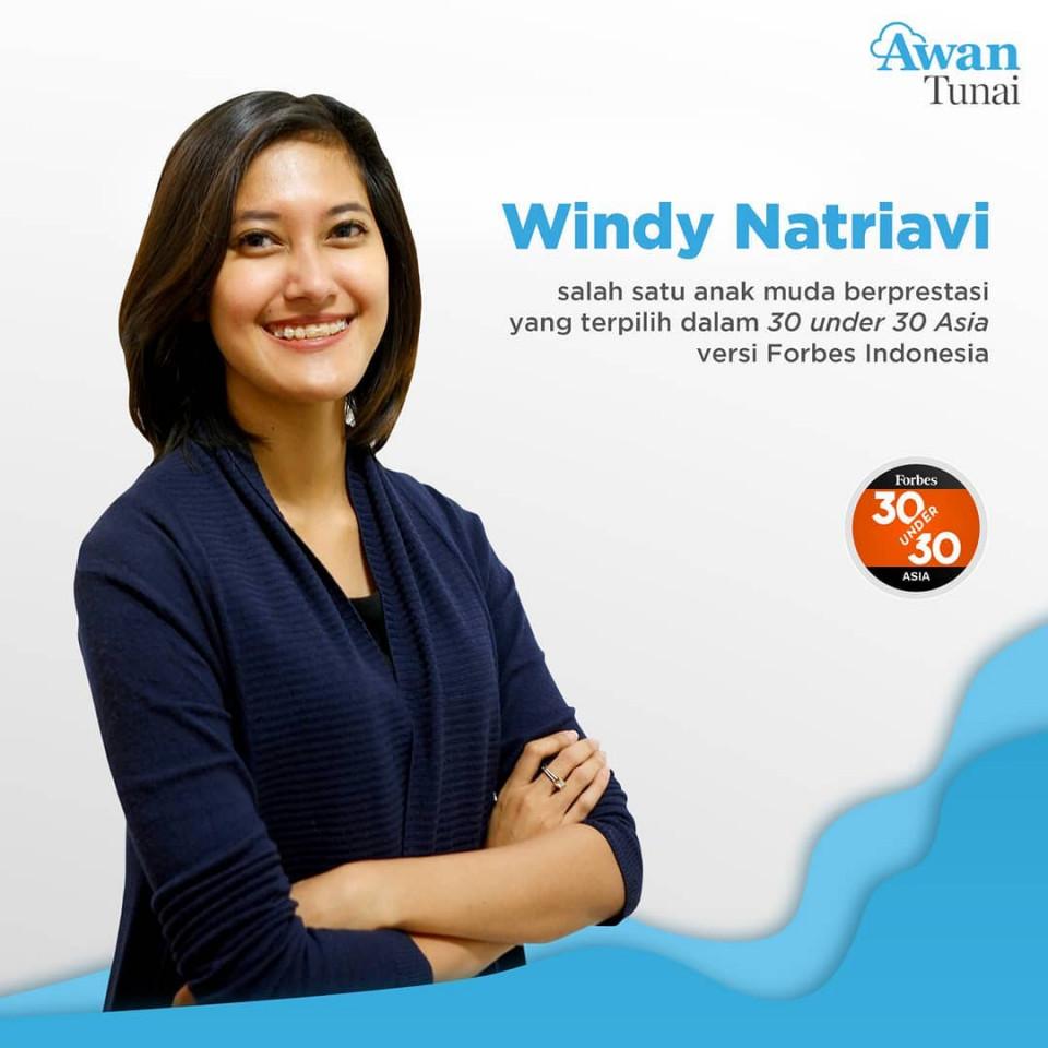 Besarkan Go-Life hingga Diakui Forbes, Ini 5 Fakta Menarik Windy Natriavi, Pendiri AwanTunai - Foto 5
