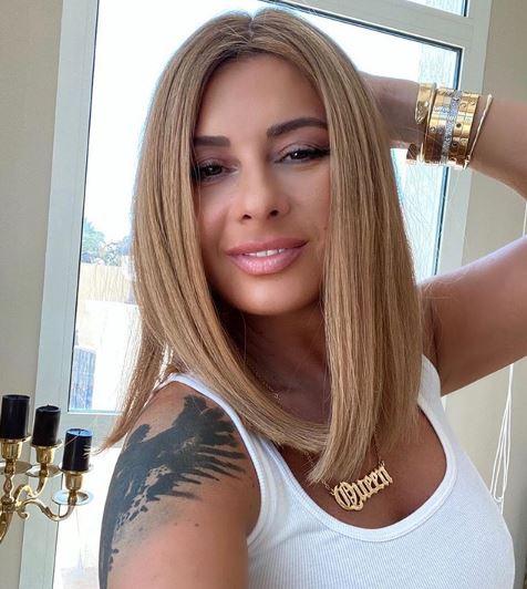 5 Potret Seksi Anamaria Prodan Mantan Model Playboy yang Dijuluki Agen Pesepakbola Terpanas - Foto 5