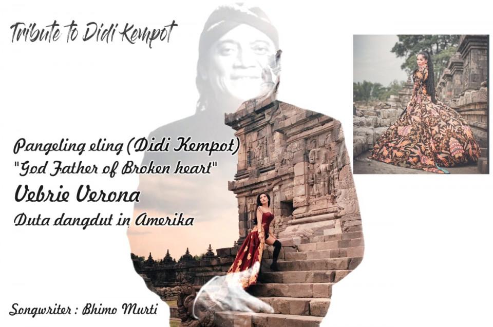 Kenalkan Lagu Dangdut Logat Jawa, Vebrie Verona Sambangi Makam Didi Kempot Sebelum ke Amerika - Foto 1