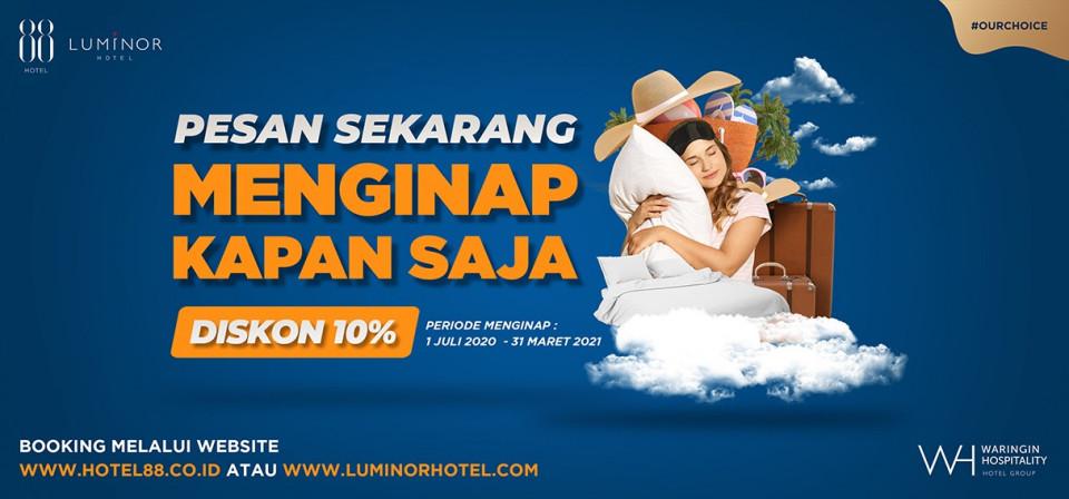 Liburan New Normal Pesan Hotel Sekarang dan Nginap Kapan Saja - Foto 1