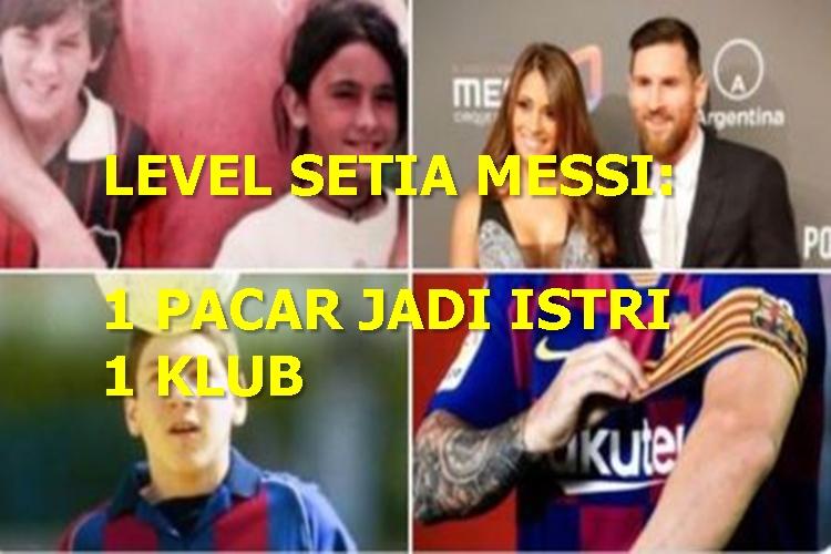 5 Meme Lucu Lionel Messi usai Bikin 700 Gol, Jagoan Mah Bebas - Foto 2
