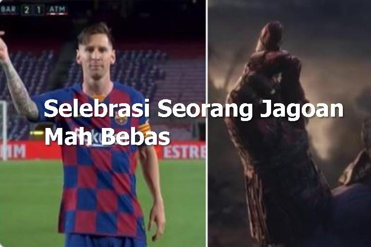 5 Meme Lucu Lionel Messi usai Bikin 700 Gol, Jagoan Mah Bebas - Foto 1