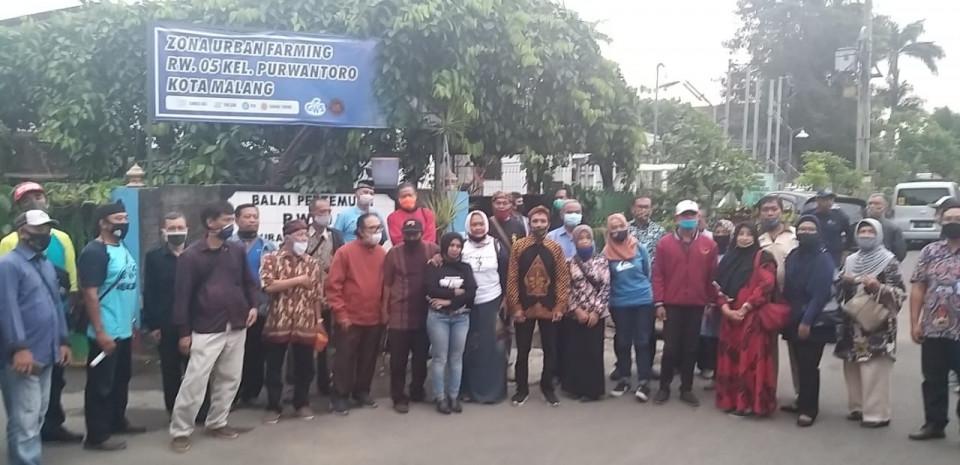 Glintung Water Street Kini Jadi Model 40 Kampung Tematik di Malang - Foto 1