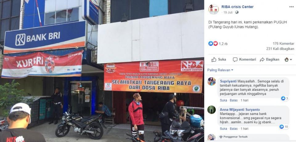 Savage Abis, Lembaga Antiriba di Tangerang Buka Kantor di Samping Bank Konvensional - Foto 1