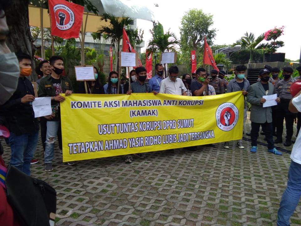 KPK Didesak Usut Tuntas Dugaan Suap Legislator Sumut