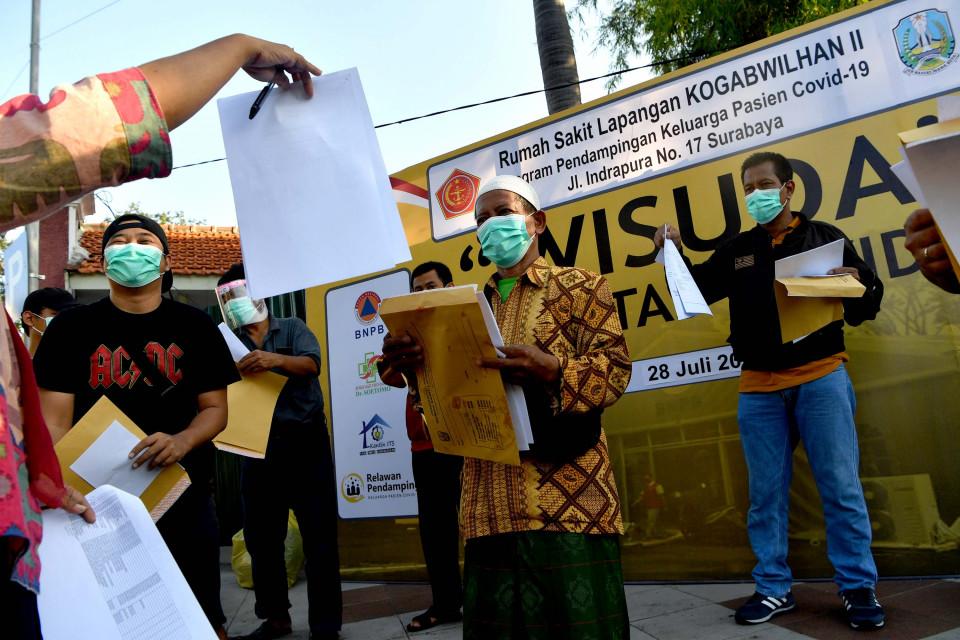 Walkot: Pasien Sembuh Bertambah 61 Orang di Palangka Raya