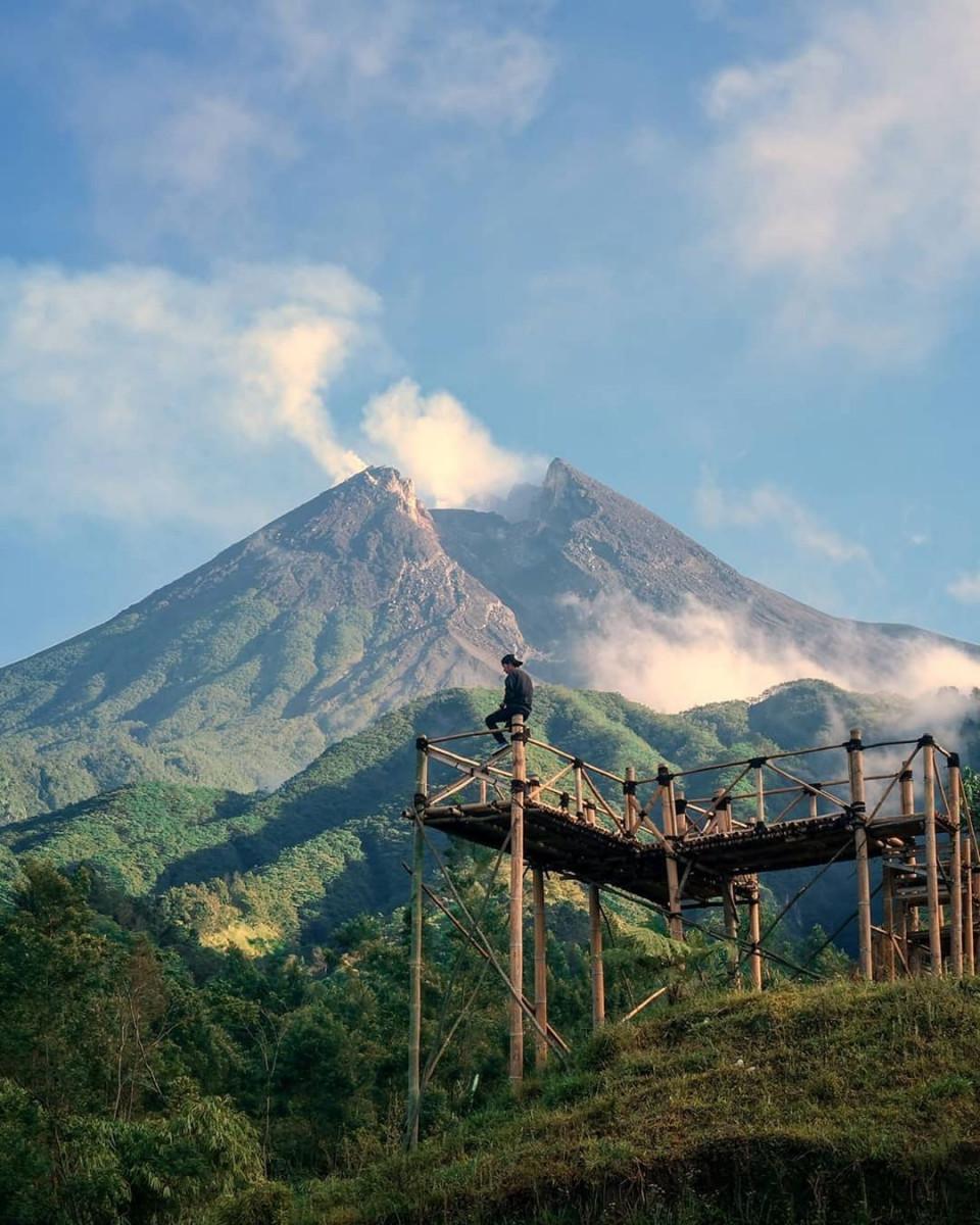 4 Spot Terbaik Melihat Gunung Merapi dari Jogja, Bisa Sambil Ngopi - Foto 2