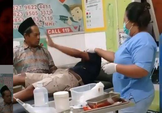 Pasien Ini Kena Sial Combo karena Ulahnya Sendiri, Sudah Tertimpa Tangga Jatuh Pula
