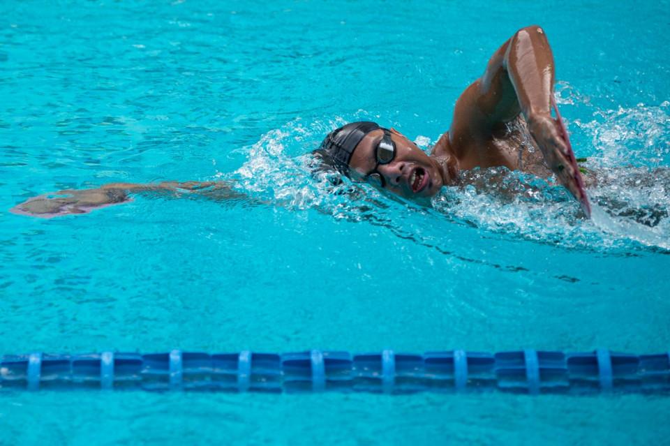 Jaga Performa, Atlet I Gede Siman Sudartawa Tetap Berlatih