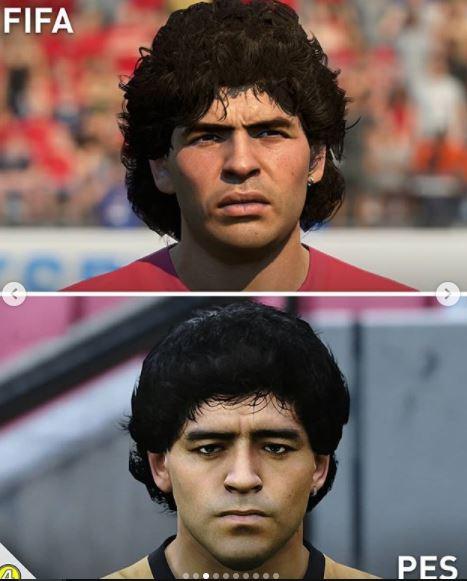 5 Foto Perbedaan Wajah Pemain di Game FIFA dan PES, Miripan Mana - Foto 2