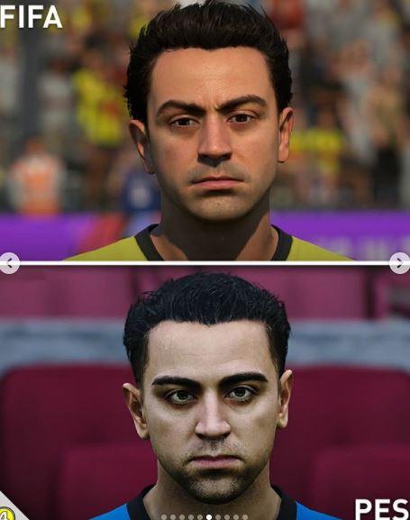 5 Foto Perbedaan Wajah Pemain di Game FIFA dan PES, Miripan Mana - Foto 1