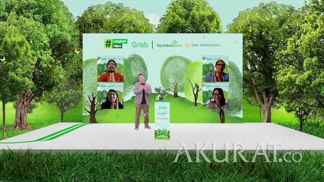 Kurangi Jejak Karbon, Grab Bersama BenihBaik.com dan WRI Indonesia Luncurkan Inisiatif Carbon Offsetting - Foto 1