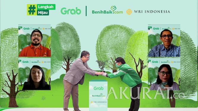 Kurangi Jejak Karbon, Grab Bersama BenihBaik.com dan WRI Indonesia Luncurkan Inisiatif Carbon Offsetting - Foto 2