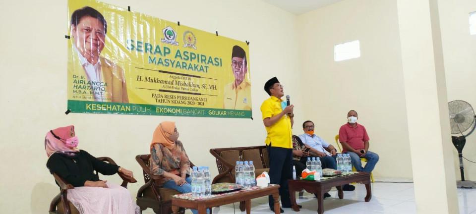Manfaatkan Masa Reses, Misbakhun Ajak Konstituen Pahami Kebijakan Presiden Jokowi Atasi Pandemi - Foto 1