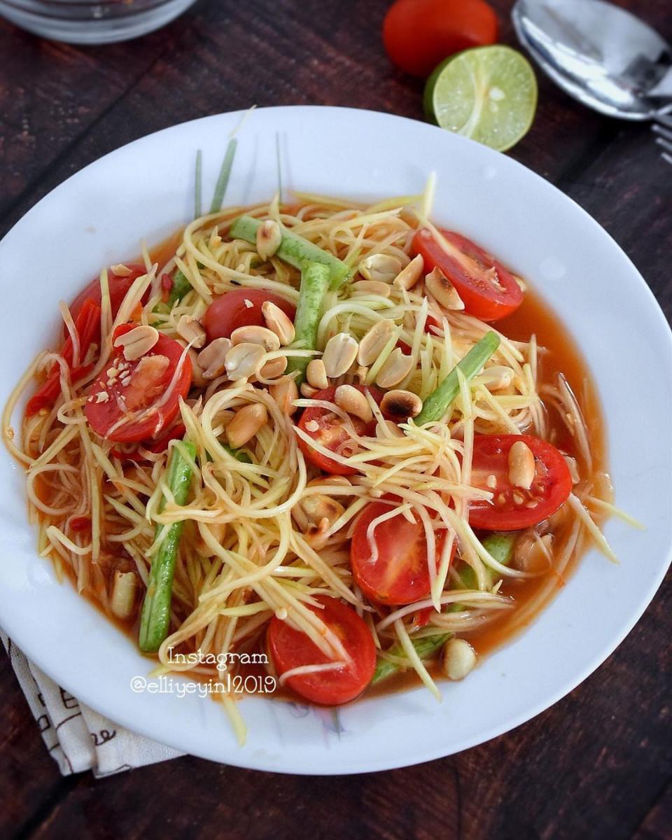 Resep Salad Pepaya, Cocok Buat Penikmat Pedas Segar