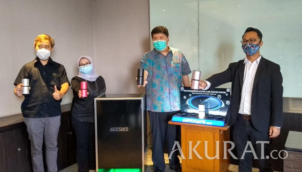 Andalkan Sistem Dekontaminasi Udara, PT Bhakti Nusantara Teknologi Hadirkan Aerosafe Mini - Foto 1