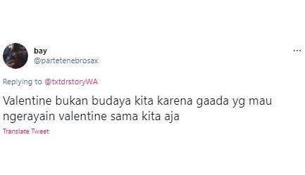 Sering Jadi Perdebatan, 5 Cuitan Kocak Warganet Soal Valentine Bukan Budaya Kita - Foto 1