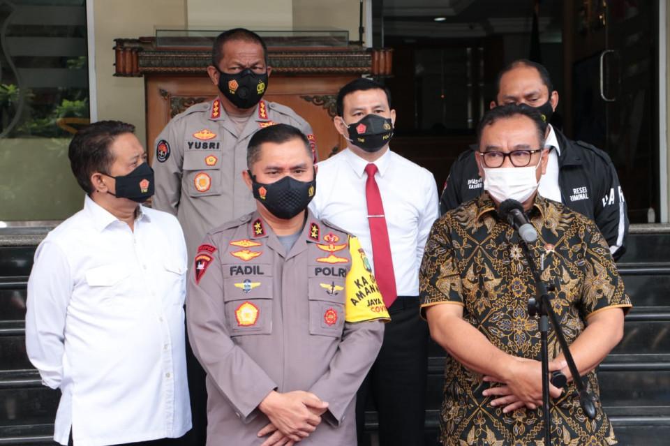 Angka Penyebaran Covid-19 di DKI Terus Meningkat, Kapolda Metro Jaya: Kami Terus Evaluasi